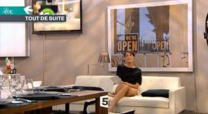 Alessandra Sublet dans C à Vous - 19/10/10 - 1