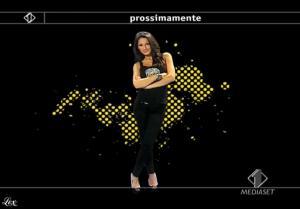 Anna Tatangelo dans Italia1 - 13/05/09 - 2