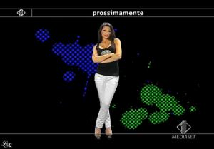 Anna Tatangelo dans Italia1 - 13/05/09 - 3