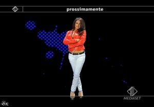 Anna Tatangelo dans Italia1 - 13/05/09 - 4