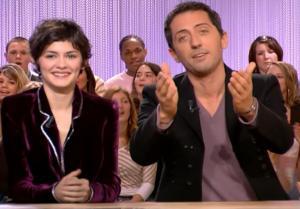 Audrey Tautou dans le Grand Journal De Canal Plus - 08/12/06 - 1