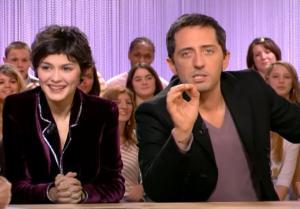 Audrey Tautou dans le Grand Journal De Canal Plus - 08/12/06 - 2