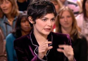 Audrey Tautou dans le Grand Journal De Canal Plus - 08/12/06 - 4