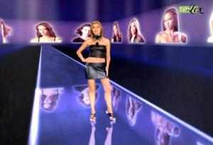 Cécile Simeone dans Top Model USA - 03/11/04 - 2