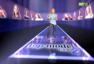 Cécile Simeone dans Top Model USA - 31/11/04 - 2