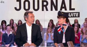 Charlotte Le Bon dans le Grand Journal De Canal Plus - 15/10/10 - 3