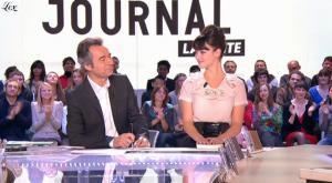 Charlotte Le Bon dans le Grand Journal De Canal Plus - 22/10/10 - 3