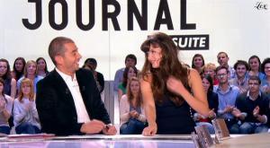 Charlotte Le Bon dans le Grand Journal De Canal Plus - 25/10/10 - 6