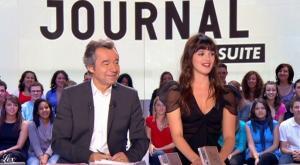 Meteo dans le Grand Journal De Canal Plus - 14/10/10 - 3