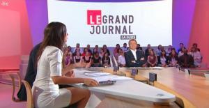 Elise Chassaing dans le Grand Journal De Canal Plus - 03/06/09 - 3
