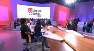 Elise Chassaing dans le Grand Journal De Canal Plus - 08/01/09 - 2