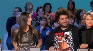 Elise Chassaing dans le Grand Journal De Canal Plus - 13/01/09 - 1