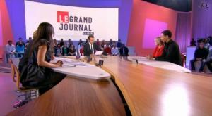 Elise Chassaing dans le Grand Journal De Canal Plus - 14/01/09 - 2
