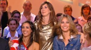 Elise Chassaing, Tania Bruna-Rosso et Pauline Lefèvre dans le Grand Journal De Canal Plus - 25/06/10 - 3
