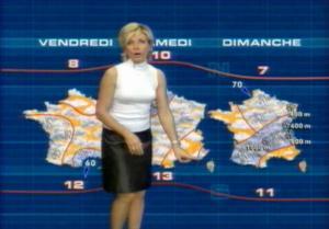 Evelyne Dhéliat Meteo TF1 2
