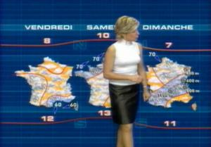 Evelyne Dhéliat Meteo TF1 3
