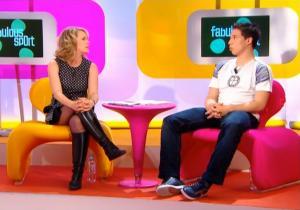 Isabelle Moreau dans Fabulous Sport - 17/05/08 - 2