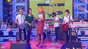 Simona Ventura, Katy Perry et I Kissed à Girl dans Quelli Che Il Calcio - 21/09/08 - 2