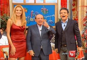 Adriana Volpe dans I Fatti Vostri - 18/12/09 - 01