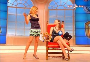 Adriana Volpe dans In Famiglia - 02/03/08 - 2