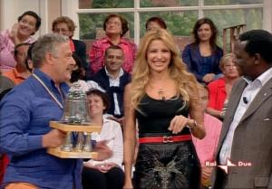 Adriana Volpe dans In Famiglia - 14/10/06 - 10