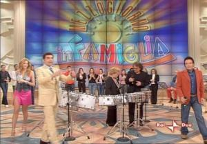 Adriana Volpe dans In Famiglia - 26/02/05 - 1