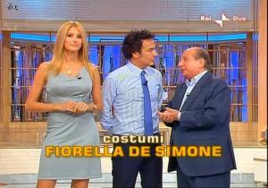Adriana Volpe dans Mezzogiorno In Famiglia - 04/10/08 - 1