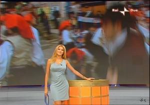 Adriana Volpe dans Mezzogiorno In Famiglia - 04/10/08 - 3