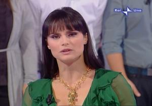 Lorena Bianchetti dans 100 E Lode - 05/10/08 - 1