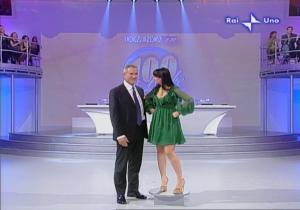 Lorena Bianchetti dans 100 E Lode - 05/10/08 - 3