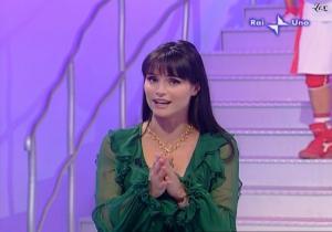 Lorena Bianchetti dans 100 E Lode - 05/10/08 - 5