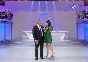 Lorena Bianchetti dans 100 E Lode - 05/10/08 - 6