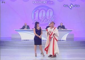 Lorena Bianchetti dans 100 E Lode - 12/10/08 - 11