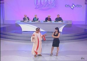 Lorena Bianchetti dans 100 E Lode - 12/10/08 - 12