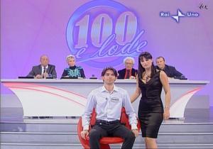 Lorena Bianchetti dans 100 E Lode - 12/10/08 - 2