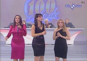 Lorena Bianchetti dans 100 E Lode - 12/10/08 - 3