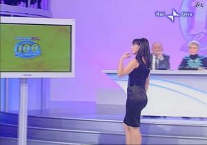 Lorena Bianchetti dans 100 E Lode - 12/10/08 - 6