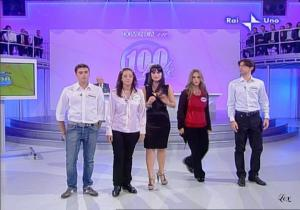 Lorena Bianchetti dans 100 E Lode - 12/10/08 - 8