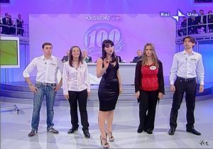 Lorena Bianchetti dans 100 E Lode - 12/10/08 - 9