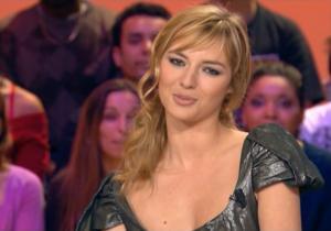 Louise Bourgoin et Meteo dans le Grand Journal De Canal Plus - 29/02/08 - 2