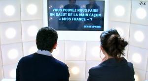 Mélanie Doutey et LBAQ dans le Grand Journal De Canal Plus - 08/12/09 - 1