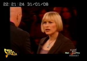 Patricia Arquette et Medium dans Striscia La Notizia - 05/02/08 - 3
