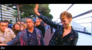 Pauline Lefèvre dans le Grand Journal De Canal Plus - 15/05/09 - 3