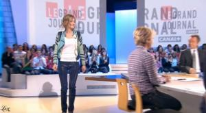 Pauline Lefèvre dans le Grand Journal De Canal Plus - 19/10/09 - 2