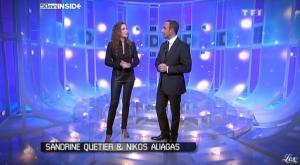 Sandrine Quétier et 50 Minutes Inside dans Rediff - 21/11/09 - 1
