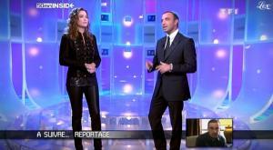 Sandrine Quétier et 50 Minutes Inside dans Rediff - 21/11/09 - 2
