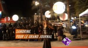 Sandrine Quétier dans le Grand Journal De Canal Plus - 19/01/09 - 1