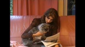 Sophie Vouzelaud dans le Grand Journal De Canal Plus - 29/10/08 - 2