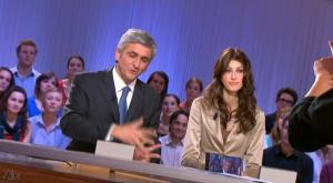 Sophie Vouzelaud dans le Grand Journal De Canal Plus - 29/10/08 - 3