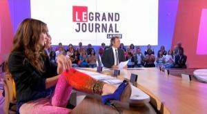 Tania Bruna-Rosso dans le Grand Journal De Canal Plus - 12/09/08 - 3